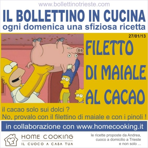 08 bollettino in cucina - filetto maiale al cacao - 27-01-13