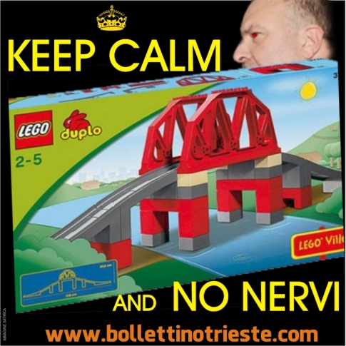 KEEP CALM NO NERVI PONTE