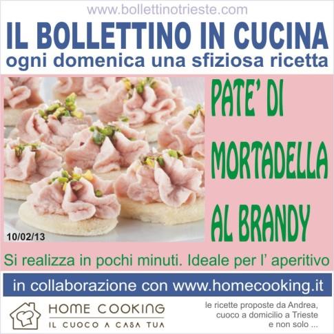 10 bollettino in cucina - pate mortadella brandy - 10 - 02- 13