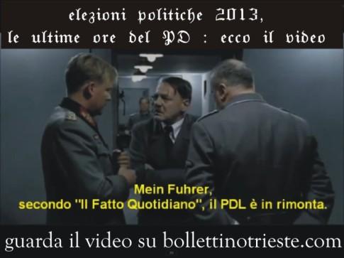 video caduta del PD