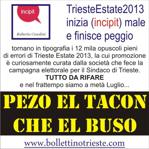 TRIESTE ESTATE IN RISTAMPA